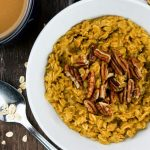 Pumpkin Pie Oatmeal – Microwave or Stove Top