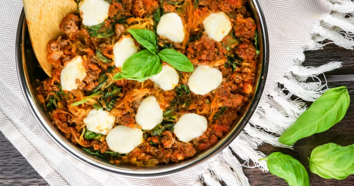 Italian Spaghetti Squash Casserole - Slender Kitch...