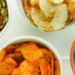 Microwave Veggie Chips – Slender Kitchen