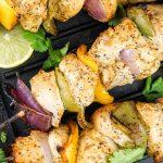 Cilantro Lime Chicken Kabobs – Slender Kitchen