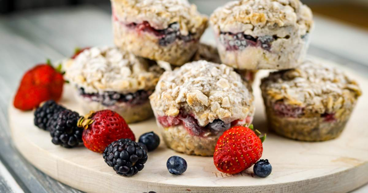 Frozen Oatmeal Cups - Slender Kitchen