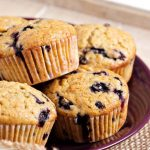 Jumbo Blueberry Oat Muffins – Slender Kitchen
