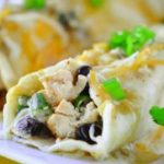 Easy Green Chicken Enchiladas – Slender Kitchen