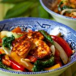 Sheet Pan Asian Tofu and Vegetable Stir Fry