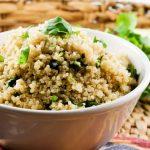 Cilantro Lime Quinoa – Slender Kitchen