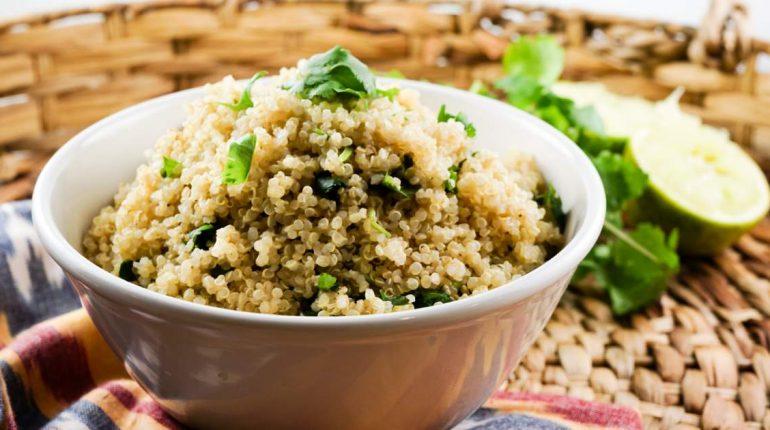 Cilantro Lime Quinoa - Slender Kitchen