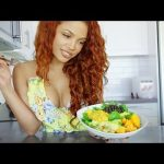 WHAT I EAT IN A DAY! –  Vegetarian + Healthy