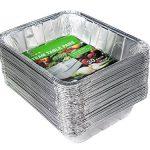 Aluminum Half Size Deep Foil Pan 30 packs 9 x 13 S…