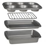 Ecolution Toaster Oven Bakeware 4-Piece Set | Nons…