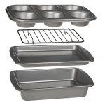 Ecolution Toaster Oven Bakeware 4-Piece Set | Nons…