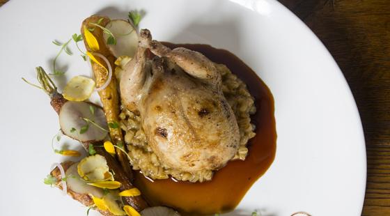 Masterclass: Stuffed boned quail and ...