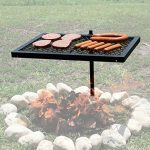 Texsport Heavy Duty Barbecue Swivel Grill for Outd…