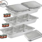 TigerChef TC-20519 Chafer Pans Set, Includes 3 Ful…