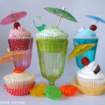 Gluten free cocktail cupcakes
