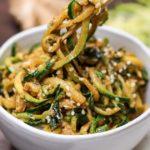 Asian Zucchini Noodles – Slender Kitchen