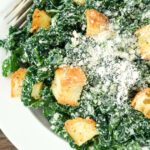 Healthy Kale Caesar Salad – Slender Kitchen