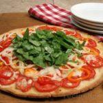 Low Fat Recipe – Springtime Pizza Recipe