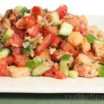 Summer Recipes – Grilled Sourdough Panzanella Reci…