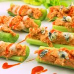Buffalo Chicken Celery Bites – Slender Kitchen