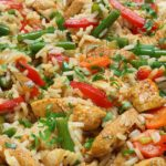 Healthy Chicken Fried Rice – Slender Kitchen