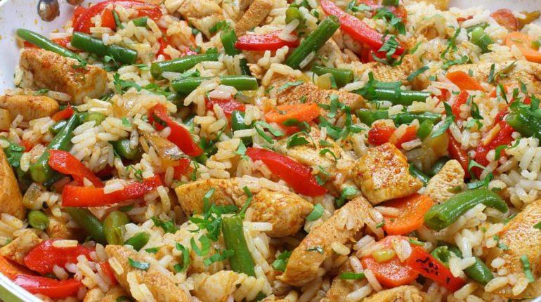 Healthy Chicken Fried Rice - Slender Kitchen