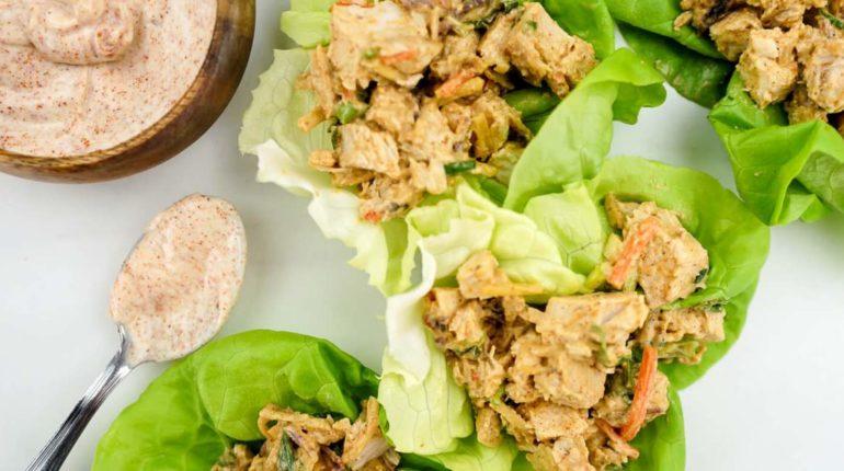 Blackened Chicken Salad - Slender Kitchen