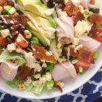 Southwestern Turkey BLTA Salad – Slender Kitchen