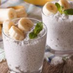 Banana Coconut Chia Seed Pudding