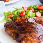 Grilled Sriracha Barbecue Chicken – Slender Kitche…