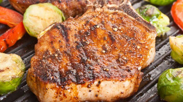 Southwestern Grilled Pork Chops - Slender Kitchen