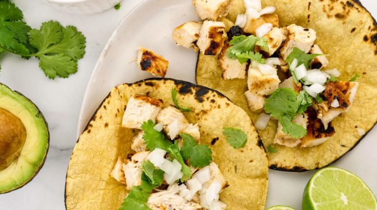 Grilled Chicken Tacos - Slender Kitchen