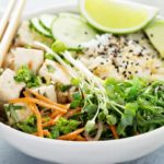 Spicy Vegetarian Sushi Bowls – Slender Kitchen