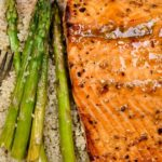 Easy Honey Garlic Broiled Salmon