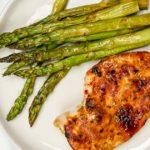 Honey Garlic Chicken and Asparagus
