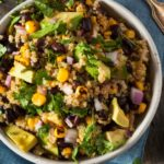 Southwest Quinoa Salad with Black Beans, Corn, and…