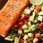 Grilled Salmon With Honey & Lime