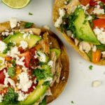 Tostadas with Chicken – Slender Kitchen