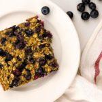 Baked Blueberry Buttermilk Oatmeal – Slender Kitch…