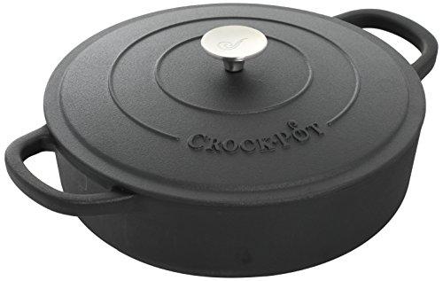 Crock Pot 112004.02 Artisan 5 Quart Preseasoned En...