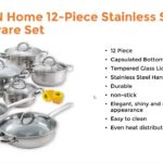 3 best stainless steel cookware set to buy from amazon