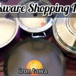 Cookware Shopping Haul / COIMBATORE STEEL HOUSE and AMAZON / Pigeon tri-ply Kadai Unboxing