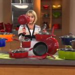 Rachael Ray 12-pc Gradient Porcelain Enamel Cookware Set with Mary Beth Roe