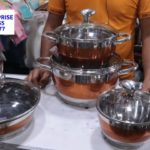 Stainless steel cookware Set৷৷Mamo Maker৷৷Chinese Pan With Price