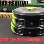Homitt 10 Piece Camping Cookware Set Review!