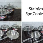 Vinod Cookware Stainless Steel Cookware Set / Cookware Set Review & Unboxing