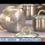 HomeShop18.com – Stainless Steel Cookware Set by Kaiserhoff