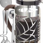 Cofina French Press Coffee Maker – 34 Ounce Coffee Press Gift Bundle