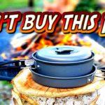 """""""AmazonBasics Outdoor Camping Cookware Set"""" VS """"GSI Pinnacle Pan"""""""