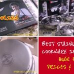 The BEST STAINLESS STEEL utensils IN INDIA?    Huge BERGNER cookware HAUL & REVIEW    unboxing