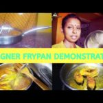 Bergner Stainless Steel Cookware(Fry pan) Review|Frying Fish|Demonstration|HINDI